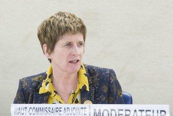 Заместитель Верховного комиссара ООН Кейт Гилмор