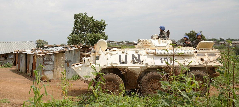 Unmiss disse que locais de proteção de civis foram criados para abrigar os que fogem da violência.