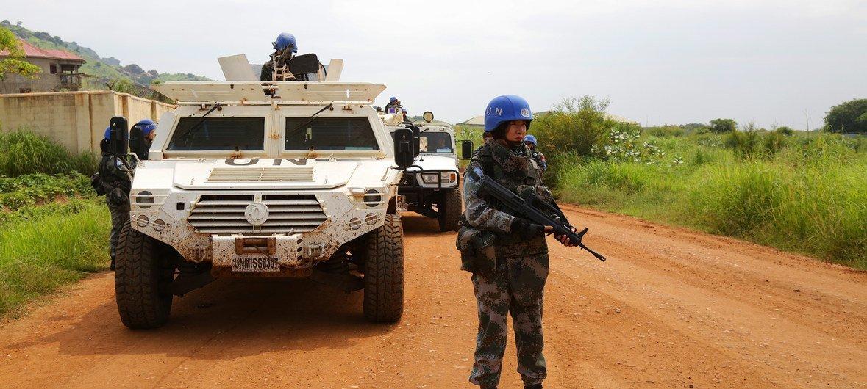 Missão da ONU no Sudão do Sul, Unmiss.