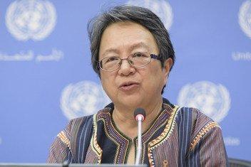 联合国土著人权利问题特别报告员科尔普斯。