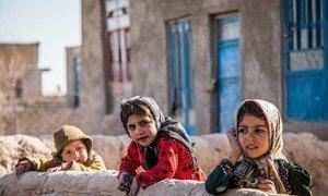Children in Shade Bara village, Herat province, Afghanistan.