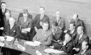 La primera sesión de la Asamblea General se realizó en Londres, en 1946.