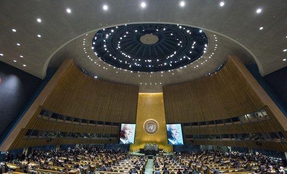 La 73e Assemblée générale des Nations Unies rend hommage à la mémoire de l'ancien Secrétaire général, Kofi Annan décédé le 18 août 2018