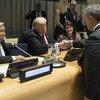 Встреча высокого уровня по наркотикам, которая прошла в штаб-квартире ООН в Нью-Йорке с участием президента Соединенных Штатов Дональда Трампа