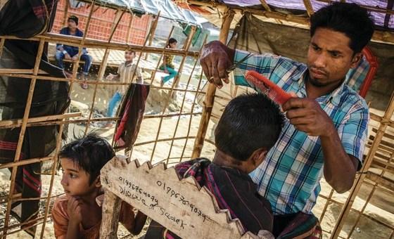 Acnur e Pnud apoiam o governo a criar condições mais propícias para o retorno voluntário de refugiados do Bangladesh.