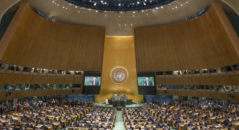 Climate change and multilateralism figure high on first day of UN General Assembly debate
