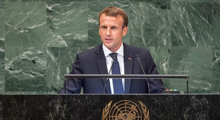 Dialogue and multilateralism key to tackling global challenges France's Macron says at UN, urging leaders not to accept 'our world unraveling'