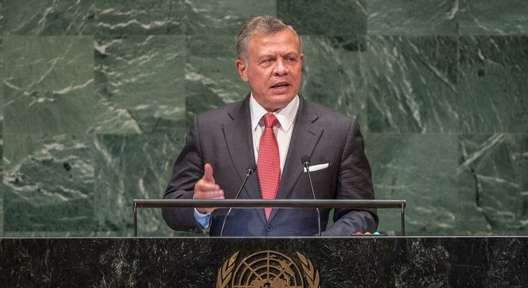 Jordan calls on UN Assembly to take 'collective action' over Middle East crisis; Syria conflict