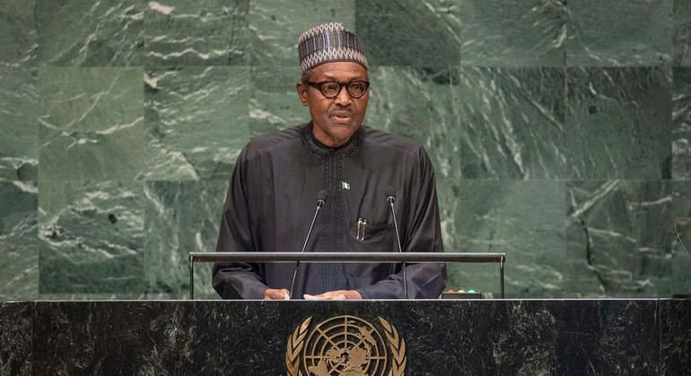 Nigerian President calls for global action on climate change, Lake Chad crisis