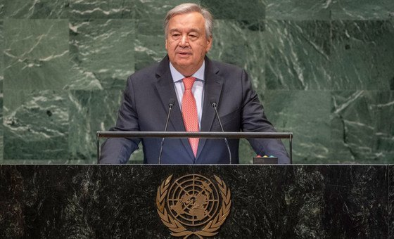 Secretary-General António Guterres presents his annual report on the work of the Organization ahead of the opening of the General Assembly's seventy-third general debate.