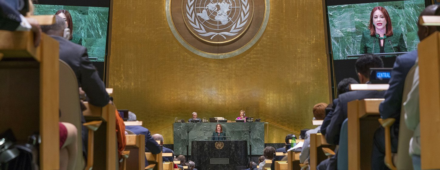 Opening of the General Debate of the 73rd session of the general debate of the UN General Assembly