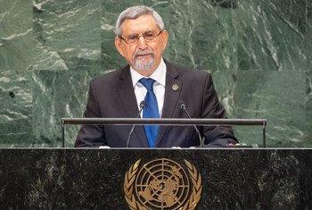 Presidente de Cabo Verde, Jorge Carlos Fonseca, na Assembleia Geral.