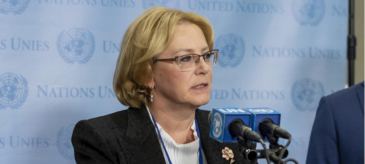Вероника Скворцова, министр здравоохранения России