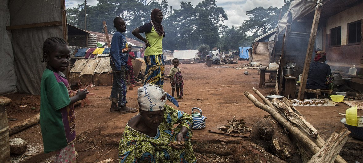 Nearly 160 tons of food from Uganda was sent via Sudan to help 8,000 of the 20,000 internally displaced people in south-eastern Central African Republic, including Pombolo, Gambo, Rafai, Zemio.