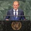 Дональд Туск, председатель Европейского совета Европейского союза на 73-й сессии Генеральной Ассамблеи ООН