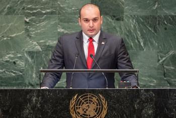 Премьер-министр Грузии Мамука Бахтадзе на 73-й сессии Генеральной Ассамблеи ООН