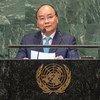 越南总理阮春福在联大第73届会议一般性辩论中发言。