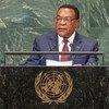 Mwendazake Waziri wa Katiba na Mambo ya Sheria wa Tanzania Balozi Augustine Phillip Mahiga (Akihutubia mjadala mkuu wa Baraza Kuu la Umoja wa Mataifa 27 Septemba 2018)