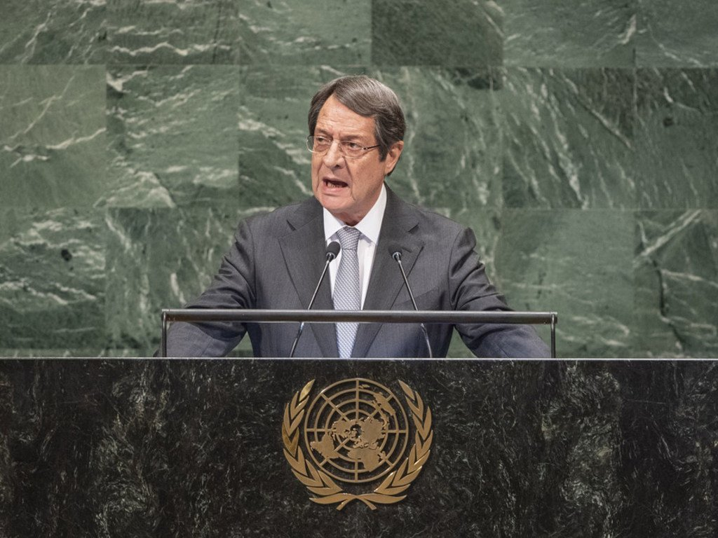 Image result for 73rd SESSION OF UN GENERAL ASSEMBLY SEPTEMBER Anastasiades
