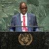 Tabang Deng Gai, Premier Vice-Président de la République du Soudan du Sud, prend la parole à la soixante-treizième session de l'Assemblée générale des Nations Unies.