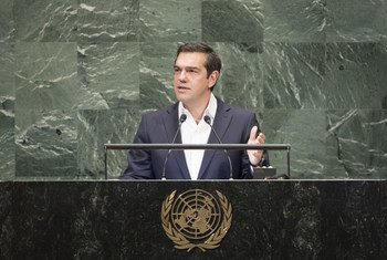 Alexis Tsipras, Prime Minister of Greece addresses the general debate of the General Assembly's seventy-third session.