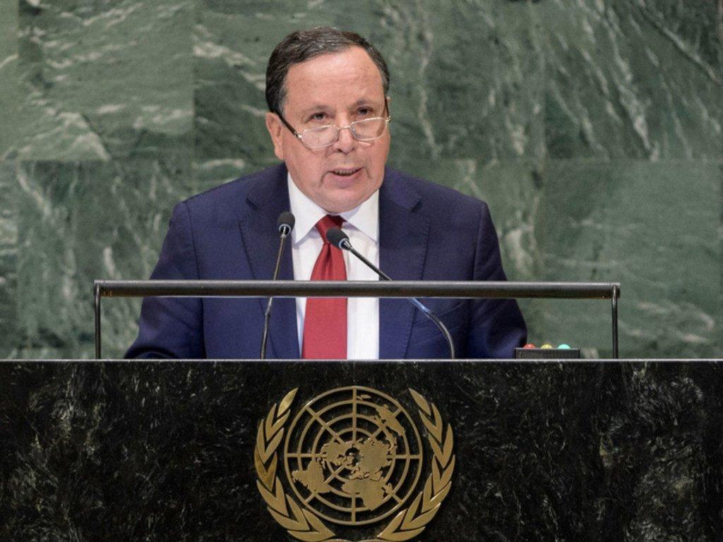الصورة : تونس في الجمعية العامة للأمم المتحدة سبتمبر 2019