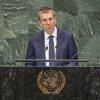 Министр иностранных дел Латвии Эдгар Ринкевич выступил на 73-й сессии Генеральной Ассамблеи ООН