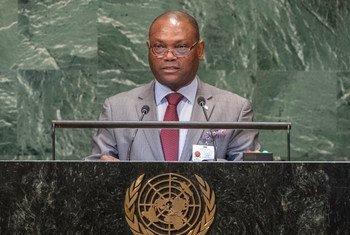 Ministro dos Negócios Estrangeiros e das Comunidades de São Tomé e Príncipe, Urbino Botelho.