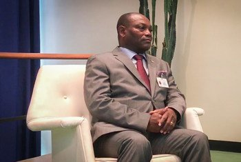 Ministro de Negócios Estrangeiros e Comunidades de São Tomé e Príncipe, Urbino Botelho.