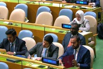 قطر والسعودية تستخدمان حق الرد في المداولات العامة للجمعية العامة