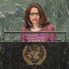 Embaixadora de Timor-Leste junto da ONU, Maria Helena Pires.