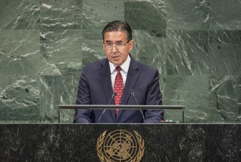 Постоянный представитель Республики Узбекистан при ООН Бахтиер Ибрагимов на 73-й сессии Генассамблеи ООН