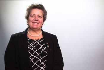 Ministra do Mar de Portugal, Ana Paula Vitorino.