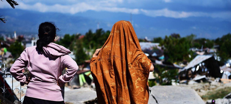 2018年9月地震和海啸袭击了印尼苏拉威西岛。