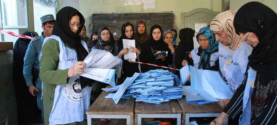 Afghanistan: UN 'outraged' by new elections-related suicide