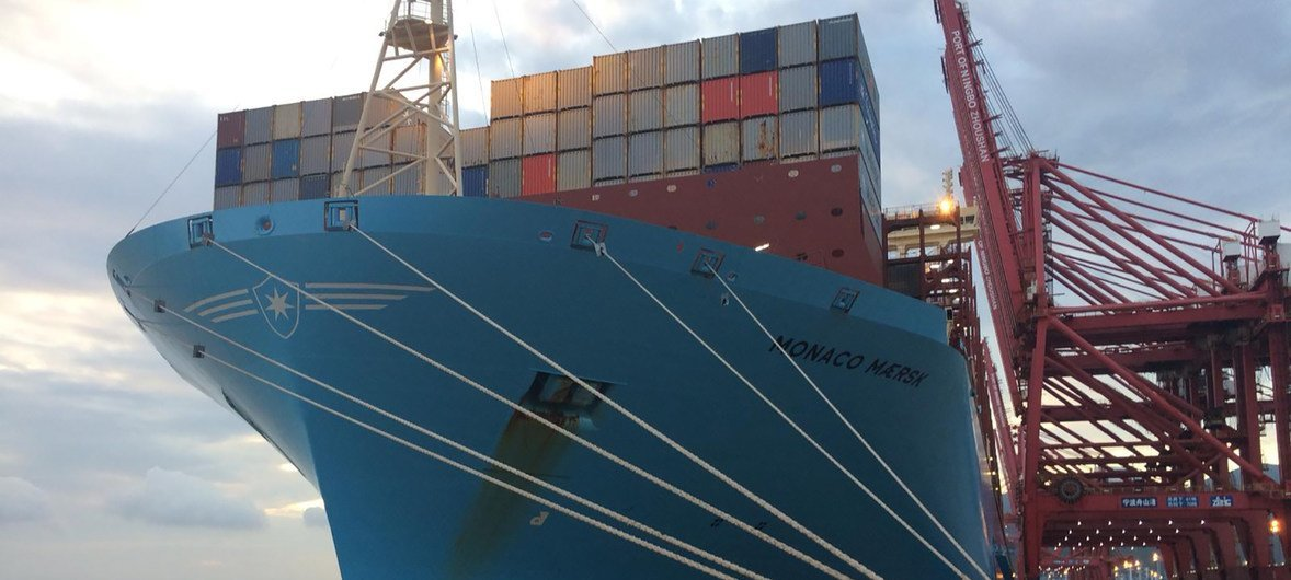 Trade wars and protectionism threaten global shipping, warns UN