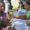 The Oral Cholera Vaccine is being administered in the most affected areas around Harare.  03 October 2018.