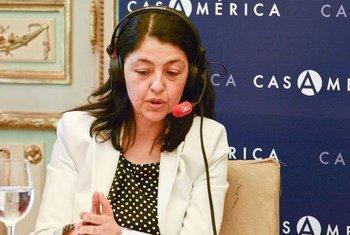 Chefe Informações de Mercado e Competitividade da OMT, Sandra Carvão