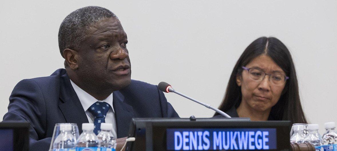 Denis Mukwege é um ginecologista que ajuda as vítimas de violência sexual na República Democrática do Congo.