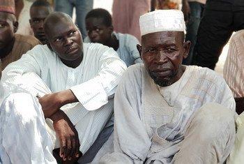 Des agriculteurs du nord-est du Nigéria déplacés et dans l'incapacité de travailler leurs terres en raison de l'insécurité actuelle. (archive - 6 octobre 2018)