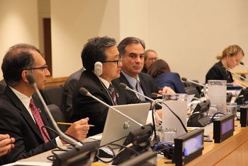 联合国负责经济和社会事务的副秘书长刘振民今天在经济与金融委员会(第二委员会)会议开幕式发表致辞。