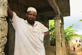 Mkazi wa kisiwa cha Anjouan nchini Comoro