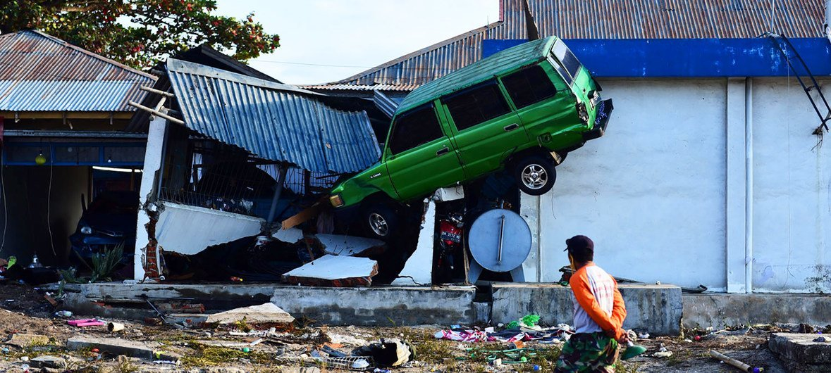 Indonesia earthquake: death toll rises beyond 2,000, UN