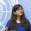 Ravina Shamdasani, a spokesperson with the UN human rights office, OHCHR (file photo).