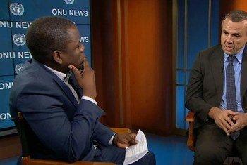 """Paolo Balladelli disse que níveis de colaboração entre ONU e Angola são """"bons e promissores""""."""