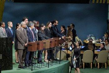 As eleições para o Conselho acontecem anualmente, com os países servindo por três anos em um sistema rotativo.