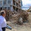 «На это невозможно смотреть без боли в сердце», - заявил сегодня Генеральный секретарь ООН, посещая пострадавшие от стихийного бедствия районы Индонезии
