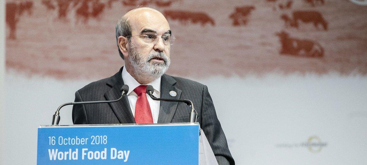 Директор ФАО Жозе Грациану да Силва: «Речь идет не только о том, чтобы просто накормить людей, еда должна быть питательной».
