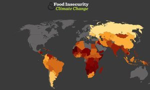 Food Insecurity & Climate Change Interactive Map from the World Food Program (WFP) & MET office Hadley Centre.