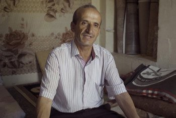 يونس يونس، لاجئ سوري في تركيا، استفاد من فرص التدريب التي توفرها منظمة الفاو بالتعاون مع مفوضية الأمم المتحدة السامية لشؤون اللاجئين والحكومة التركية.